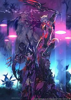 FFXIV Defenders of Eorzea artwork