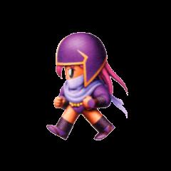 Faris as a Ninja.