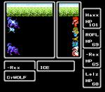 Final Fantasy, Black Mage Using Ice