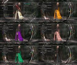 Lightning garb color customization