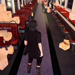 Вагон ресторан Каррус Ченатио.
