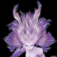 Изображение Терры в форме Эспера, основанное на ее концепт-арте.