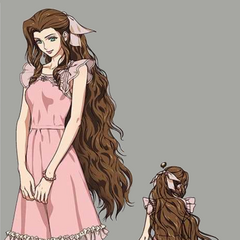 Aerith's first dress.