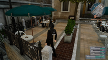 Altissia Almanac location in FFXV