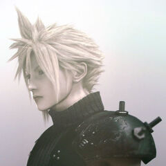 Cloud's original outfit for the <i>Final Fantasy VII Anniversary</i>.