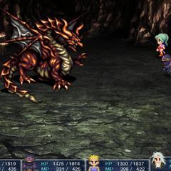 Сражение с Красным драконом в версии игры для <a href=