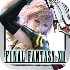 <i>Final Fantasy XIII</i> icon.