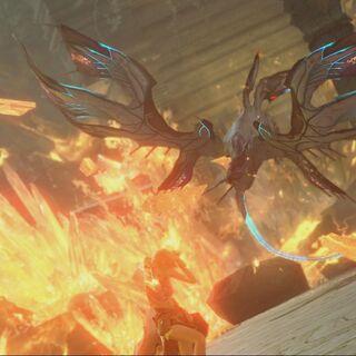 The Garuda Interceptor attacks.