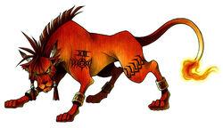 Red XIII Nomura art