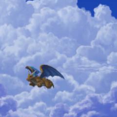 Wyvern takes flight.