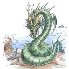 Sea Dragon (full-colored).