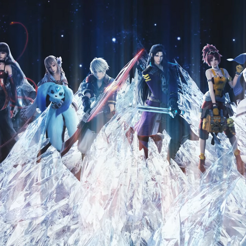 Sakura and the cast of <i>Final Fantasy Brave Exvius</i> in the <i>Touch It</i> music video.