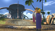 FFX HD Yuna Leaving Besaid