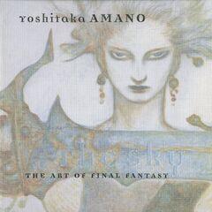 Box cover art of <i>The Sky</i> featuring original Yoshitaka Amano artwork of <a href=