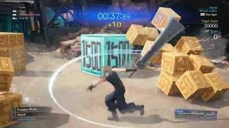 Whack-a-Box Hard Course from FINAL FANTASY VII REMAKE