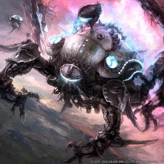 Concept art of Omega.