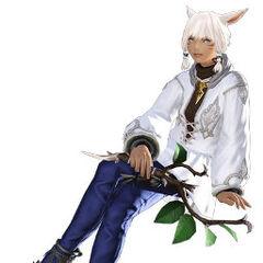 Render da Y'shtola's para o <i>Final Fantasy XIV</i> 1.0.