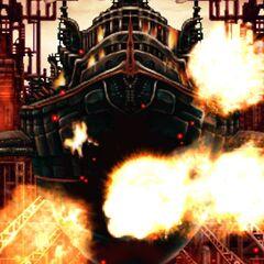 Destruição do <i>Dreadnought</i>.