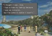 Quistis true feelings from FFVIII Remastered