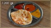Roti and Curry Plate