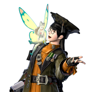 Render of a Scholar and Eos in <i><a href=