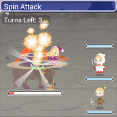 Spin Attack in-game in <i><a href=
