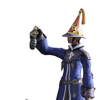 Alchemist render from the <i>Final Fantasy XIV</i> legacy.