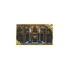 Special background (Throne Room).