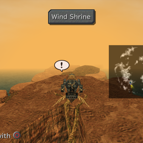 Wind Shrine on the world map.