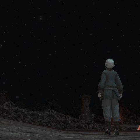 Halric watches the night.