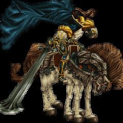 Odin's 3D Model in <i>Final Fantasy IX</i>.