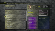 FFX-2 HD Abilities Menu