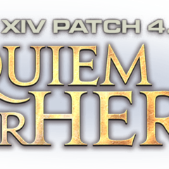 Patch 4.5 <i>A Requiem for Heroes</i> logo
