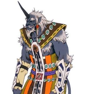Elder male.