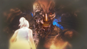 Lunafreya-and-Titan-FFXV