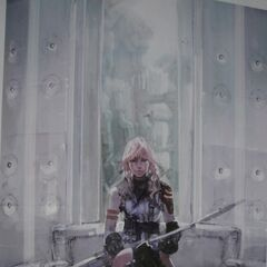 Early concept art of Lightning in the Narthex.
