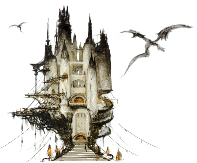 Final Fantasy 14 Limsa Lominsa Concept Art