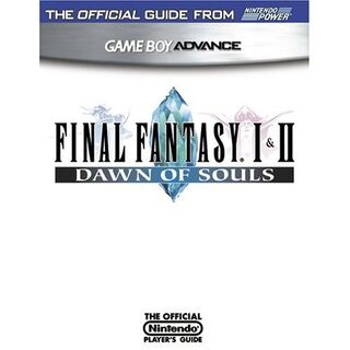 <i>Final Fantasy I & II: Dawn of Souls</i> cover.