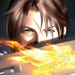 <i>Final Fantasy VIII</i> promotional image.