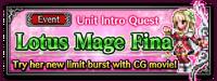 Unit Intro Lotus Mage Fina