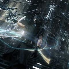 Ноктис спускается по ступеням Цитадели в трейлере <i>Versus XIII</i>.