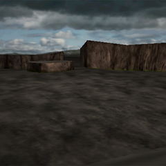 <i>Final Fantasy VII</i> Battle background.