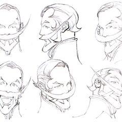 Cid Fabool IX Faces.