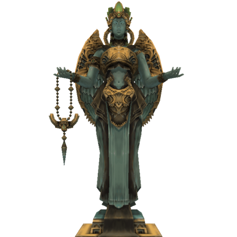 The Goddess Statue.