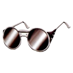 Silver Glasses in <i><a href=