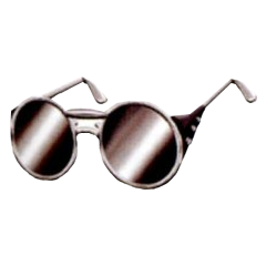 Silver Glasses in <i><a href=