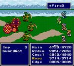 FFIV SNES Fire3