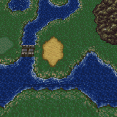 The Imperial Camp on the World Map (SNES).