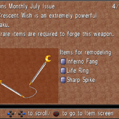 July Issue: Crescent Wish.
