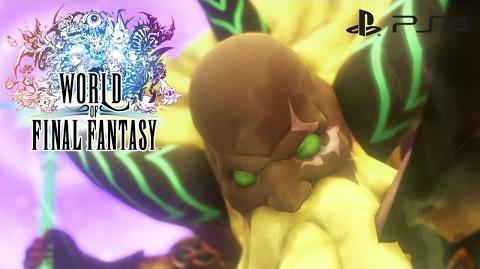 【WOFF】 ワールド オブ ファイナルファンタジー - 裁きの雷 (ラムウの必殺技) World of Final Fantasy - Judgment Bolt